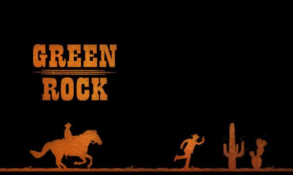 Poster Green Rock Breittttt